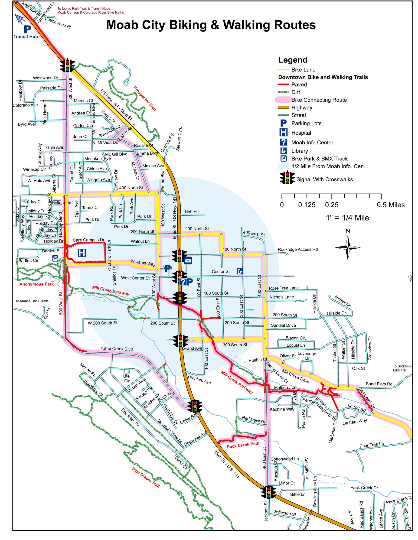 moab city biking trails
